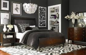 bassett bedroom furniture cosmopolitan leather sleigh bed by bassett furniture contemporary