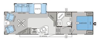 2014 eagle fifth wheels floorplans u0026 prices rapids rv inc