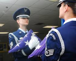 Color Guard Presentation Of The Flags Lackland Honor Guard Renders Military Honors U003e Joint Base San