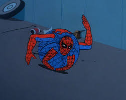 Retro Spiderman Meme - 15 bizarre screencaps from spider man we can t really explain