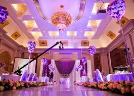 wedding hall decorations green wedding theme purple wedding hall