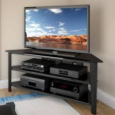 Tall Corner Tv Cabinet Tv Stands Corner Tv Stand With Drawers Entertainment