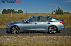 infiniti q50 s premium hybrid review video performancedrive