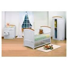 Pine Nursery Furniture Sets Mothercare Lulworth 3 Nursery Furniture Set Classic White