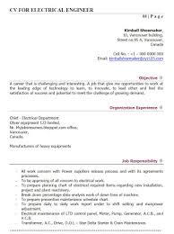 Rf Engineer Resume Sample by Resume Of Electrical Engineer Power Plant