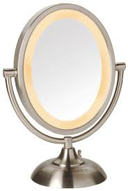 Oval Mirrors For Bathroom by Bathroom Small Bathroom Design With Lighted Makeup Mirror And