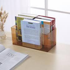 Clear Desk Organizer Acrylic Compartment Desk Organizer Transparent Bathroom Cosmetic