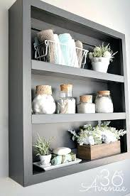 Decorating Bathroom Shelves Bathroom Shelf Decor Bath Bathroom Towel Shelf Ideas Fin