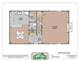 Sip Floor Plans Modern Kit House Plans