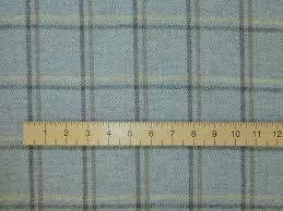 Curtain Tartan Print Fabric Sensational Highland Wool Tweed Duck