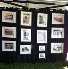 art show ideas photos of art show displays