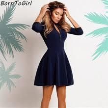 popular navy blue mini dress buy cheap navy blue mini dress lots