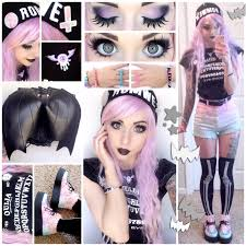 pastel goth halloween background alexa u0027s style blog pastel goth daily style post