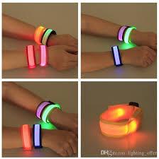 wrap wrist bracelet images Online cheap led flashing wrist band bracelet slap wrap bracelets jpg