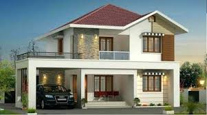 modern two story house plans house designs for two families modern two family house model render