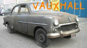 vauxhall velox barn find rare car vauxhall velox 1954 used for spare parts