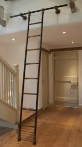 rolling library ladder fixer upper texassized house small town