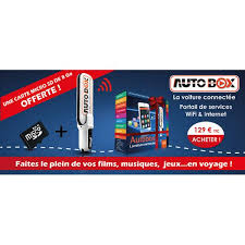 auto box autobox routeur wifi pour la voiture click1one