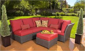 Frontgate Patio Furniture Covers - decorating charming red sectional sofa outdoor furniture covers