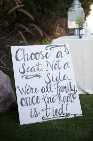 wedding seating signs the best 20 wedding aisle signs