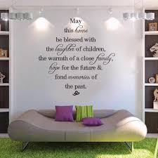 may this home be blessed vinyl wall decals quotes sayings words may this home be blessed vinyl wall decals quotes sayings words art decor lettering vinyl wall art decor stickers for walls wall art stickers decorative