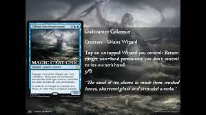 c17 cube galecaster colossus cube card and archetype