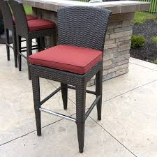 patio furniture bar stools and table outdoor bar stools spice up your outdoor decor inoutinterior