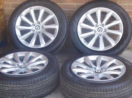 bentley bentayga rims bentley bentayga original alloy wheels u0026 tyres 36a601025 in