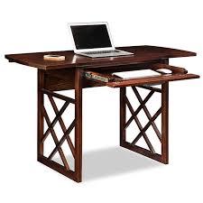 small black writing desk amazon com leick 81420 chocolate oak drop leaf computer writing