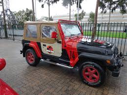 jurassic park car oz comic con adelaide 2015 jurassic park jeep by lizardman22 on