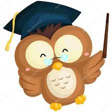 graduation owl graduation owl stock vector comodo777 79369140