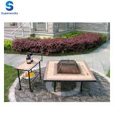 Bbq Tables Outdoor Furniture by Mosaic Fire Pit Table Mosaic Fire Pit Table Suppliers And