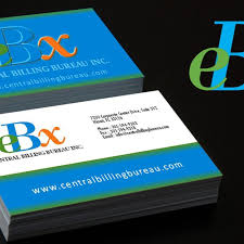 bureau com logo and business card for central billing bureau inc we also