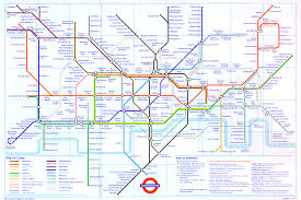 Metro Map Of Paris by The London Tube Map Archive