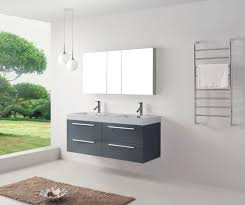 bathroom paint fresca vanity with lenova sinks and graff faucets