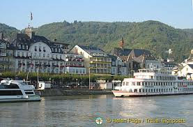 boppard one of the stops for rhine river cruises
