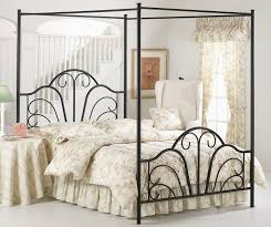 simple metal canopy bed frames home worth going small for