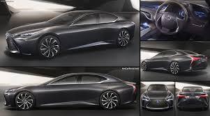 lexus lf sedan lexus lf fc concept 2015 pictures information u0026 specs