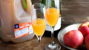 apple cider mimosa recipe tablespoon com