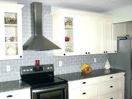 glass mosaic kitchen backsplash light gray backsplash kitchen grey glass tile modern es by
