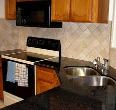 cheap diy backsplash made a super cheap and easy backsplash using