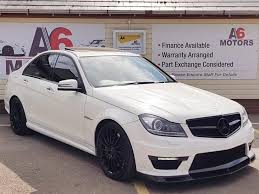 mercedes 6 3 amg for sale mercedes c class 6 3 c63 amg edition 125 7 for