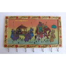 Buy Indian Home Decor Online Home Decor U0026 Handicrafts Wooden Key Hanger Painted Online
