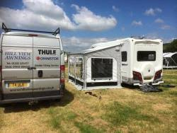 Thule Quickfit Awning Hill View Thule Omnistor Awnings World Of Motorhomes