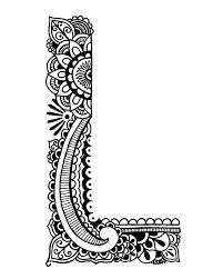 coloring pages henna art coloring pages henna alphabet on storenvy