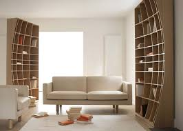 creative shelving sculpturally creative concave bookcase by joined jointed