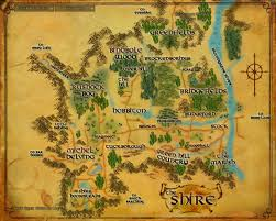 The Hobbit Map Image Map Shire Jpg The One Wiki To Rule Them All Fandom