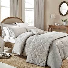 buy anna jacquard silver bed linen bedding home focus at hickeys