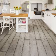 Click To Click Laminate Flooring Grey Washed Wood Effect Waterproof Luxury Vinyl Click Flooring