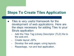 struts layout tags exles apache tiles ppt download